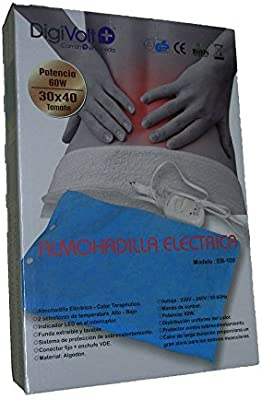 ONOGAL Almohadilla Eléctrica Calor Terapéutica de Lumbares Lavable ...
