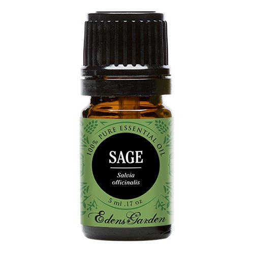 Sage 100% Pure Therapeutic Grade Essential Oil by Edens Garden- 5 ml