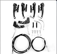 Tongli Mountain Road Bikes Sport Brake Levers V-Brake Set Cables Caliper Kit