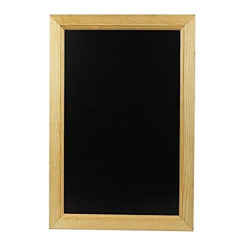 Chalkboards UK Framed Blackboard, Wood, Black, A2, 625 x 450 mm