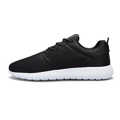 de Aire de Tennis Mujeres para Cómodas Zapatos CROWN Calzado Transpirables Negro Ligero Zapatillas Caminar Malla al Correr Deportivo CAMEL para Libre Trail Awnp7Hqx0