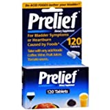 Prelief Dietary Supplement 120 tablets per Bottle (11 Pack)
