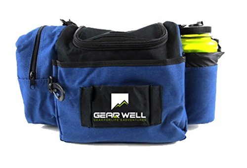 - Gear Well Extra Rounds Disc Bag - 12 Disc Lightweight and Durable - Perfect Disc Golf Bag for Beginner and Experienced Disc Golf Players
