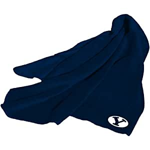 Brand New Brigham Young Cougars NCAA Fleece Throw Blanket