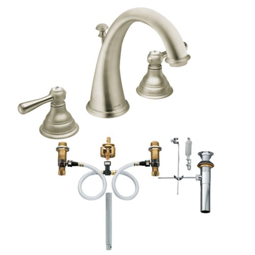 Moen Antique Nickel Widespread Faucet Widespread Antique Nickel Moen Faucet