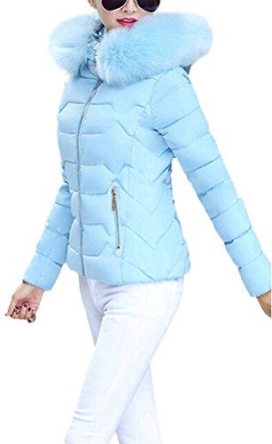 ... Brinny Damen Mantel Lange Winterjacke Steppjacke Kunstpelz Kapuzen  Parka Lang Wintermantel Übergansjacke Mantel Jacke Fellkapuze Warmen ...