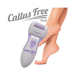 MedexLab New Callus Free Plus Handheld Electric Callus Shaver: Summer Is Here, Get Rid of the Dry Skin Under Your Feet or Hands!