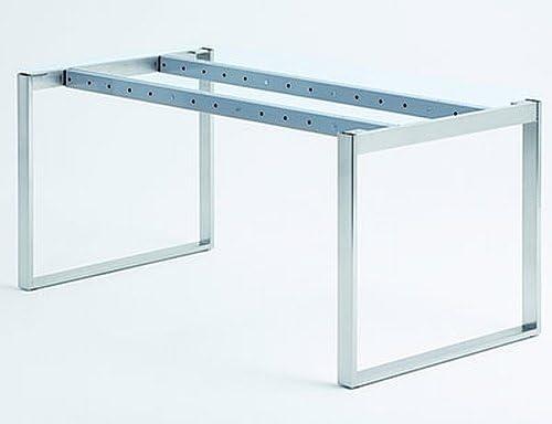 ESSERE mesa estructura, mesa, acero inoxidable enchufe: Amazon.es ...