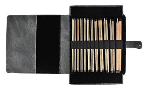 Lykke Driftwood 14'' Straight Gift Set in Grey Denim Pouch … by Lykke (Image #2)
