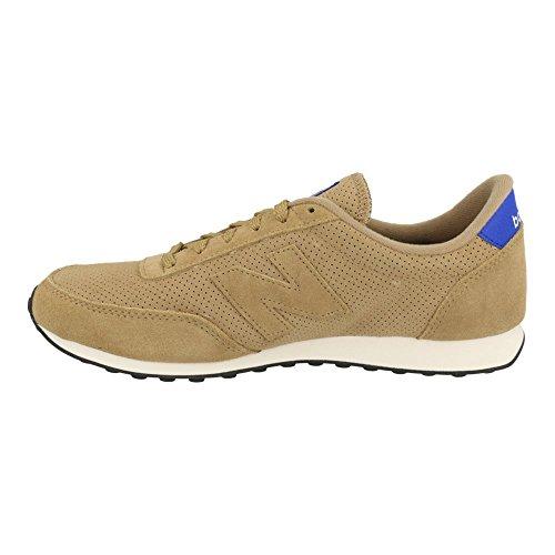 New Balance U 410 PT Schuhe brown-cobalt blue-white - 45,5