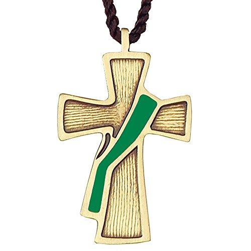(Green Sash Deacon Cross)