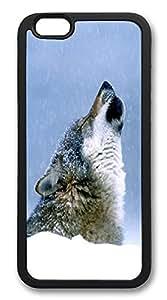"ICORER iPhone 6 Plus Case 5.5"" Wolf Luxury TPU Case Cover for Apple iPhone 6 Plus Black"