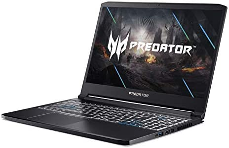 Acer Predator Triton 300 Gaming Laptop, Intel i7-10750H, NVIDIA GeForce RTX 2070 Max-Q, 15.6″ FHD 240Hz 3ms IPS Display, 16GB Dual-Channel DDR4, 512GB NVMe SSD, WiFi 6, RGB Backlit KB, PT315-52-73WT 41vvJkfj0 2BL
