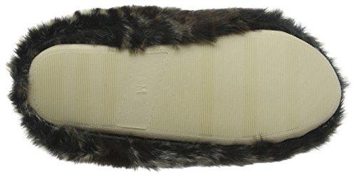 Dunlop India, Zapatillas de Estar por Casa para Mujer Gris - gris (gris)