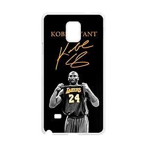 Kobe Bryant Design Plastic Case Cover For Samsung Galaxy Note4