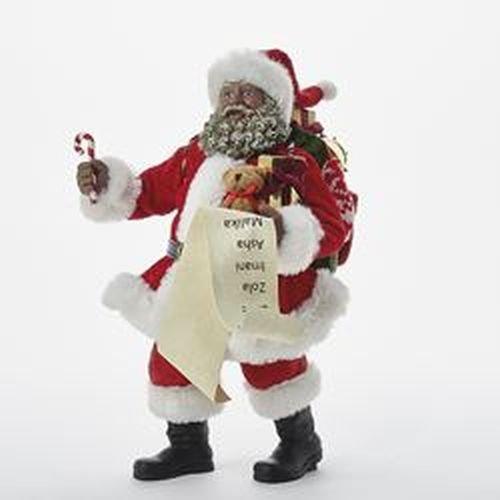 Santa Claus Candy Cane (Kurt Adler 10.5