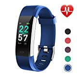 LETSCOM Fitness Tracker Color Screen, Activity Tracker with Heart Rate Monitor, Sleep Monitor