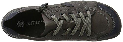 Remonte D3808, Zapatos de Cordones Derby para Mujer Azul (Ozean/fumo / 45)