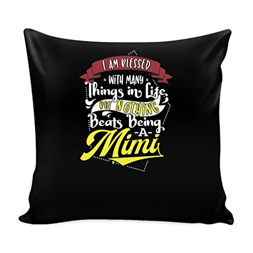 Mimi Life 16 x 16 Pillow Cover with Insert - Nothing Beats Being a (Cute Mime Costumes Ideas)