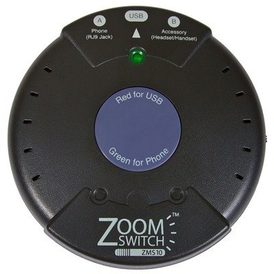 2CY7411 - ZoomSwitch ZMS10 Headset Adapter for Phone and (Zoomswitch Phone)