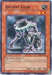 Yu-Gi-Oh! - Ancient Gear (SOI-EN008) - Shadow of Infinity - 1st Edition - Common