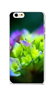 iPhone 6 Case Cover, Colorful Printed Beautiful Flowers In Full Bloom Supreme Protection PC Transparent Bumper Case Cover for iPhone 6 4.7inch