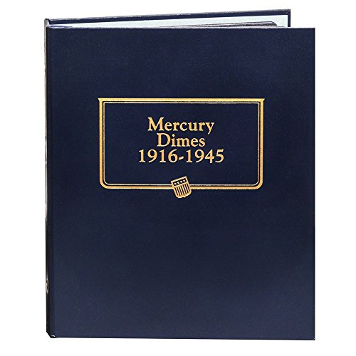 Whitman US Mercury Dime Coin Album 1916 - 1945 #9118 ()