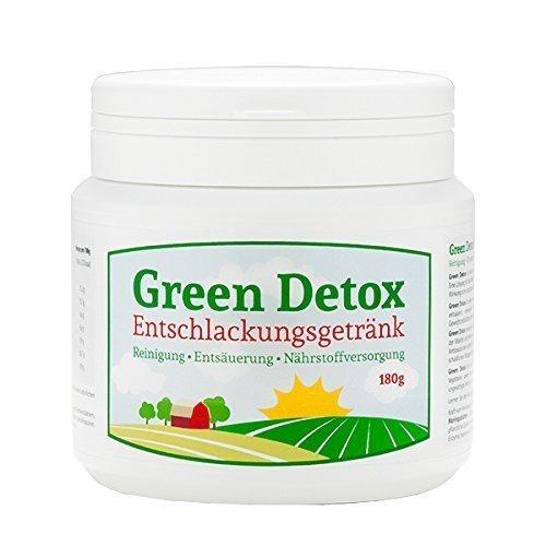 GREEN DETOX Entschlackungsgetränk 180g Pulver