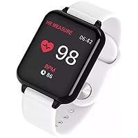 Relógio Inteligente Smart Watch B57 Hero Band 3 Monitor Cardíaco Monitor Sono Pressão Sangue iOS Android (Branco)