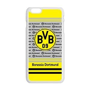 QQQO BVB Borussia Dortmund Cell Phone Case for Iphone 6 Plus