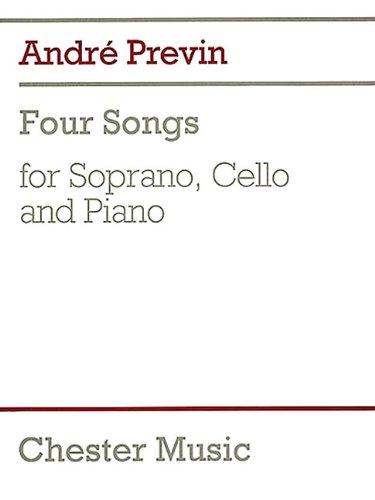 Cello Soprano - 4 Songs: for Soprano, Cello & Piano