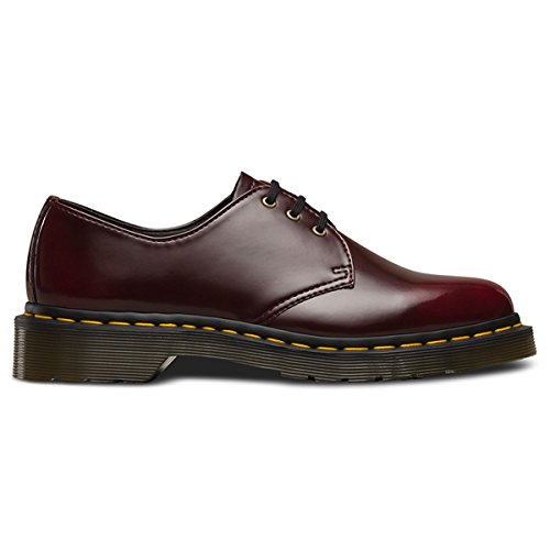 free shipping recommend very cheap Dr. Martens Unisex 1461 Vegan 3 Eye Shoe Boot Red RfvQdGRo6
