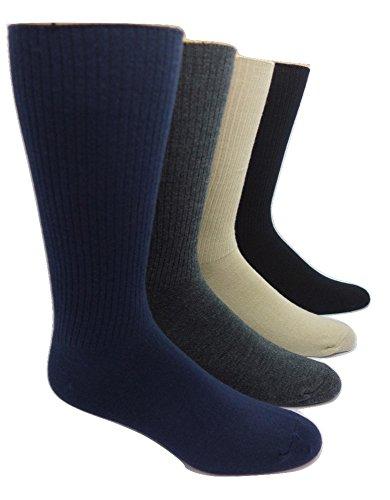 - Men's Cashmere and Merino Wool Blend Casual Socks (1 Pair) (Black)