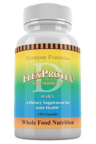 Flex Joint Support - FlexProtex-D Joint Support - 120 capsules per bottle