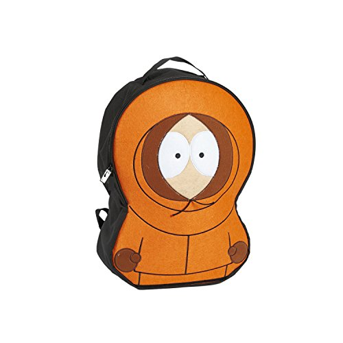Concept One Luggage Men's South Park Kenny McCormick Cosplay Backpack, Orange One -
