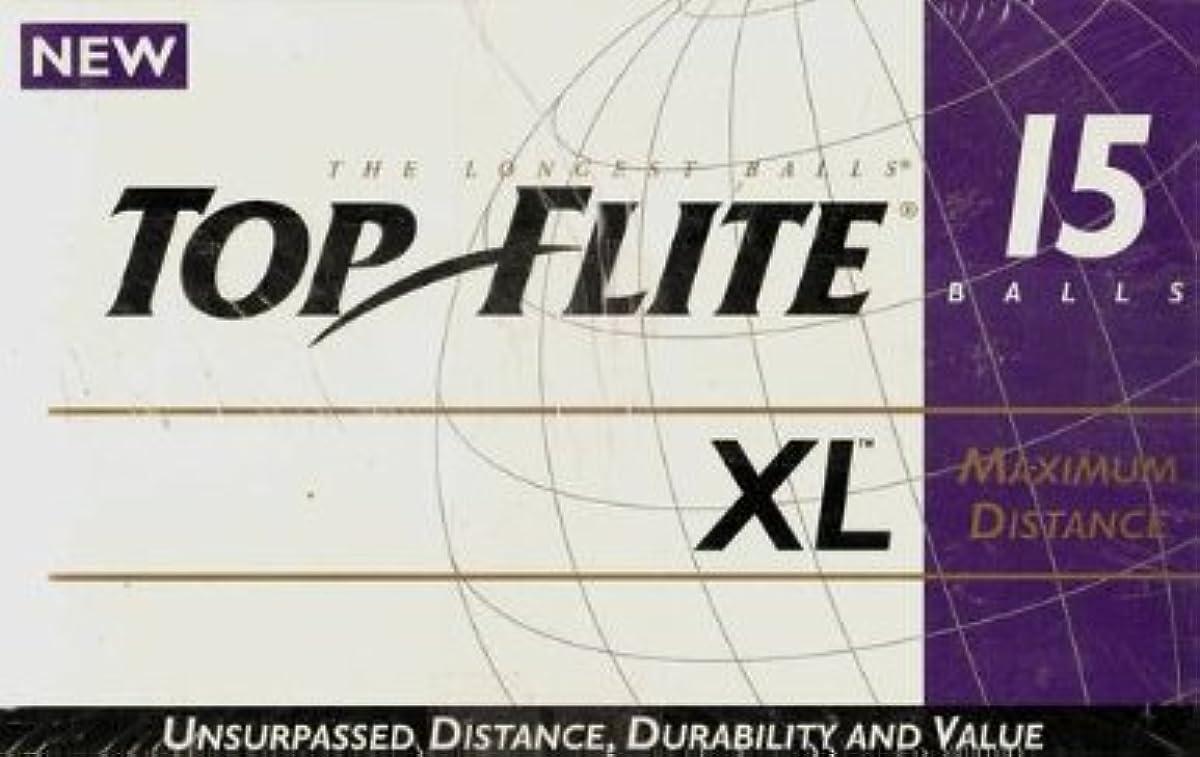 [해외] TOP FLITE XL최대 거리 골프 볼 – 박스OF 15볼