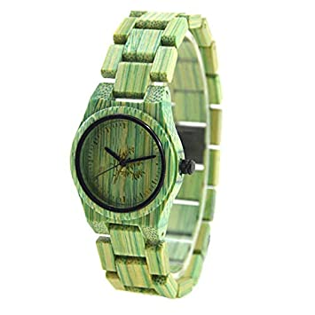 Bracelet Womens Wooden Watches Women Relojes De Madera Mujer Styles Art Luxury Wood Watch Green