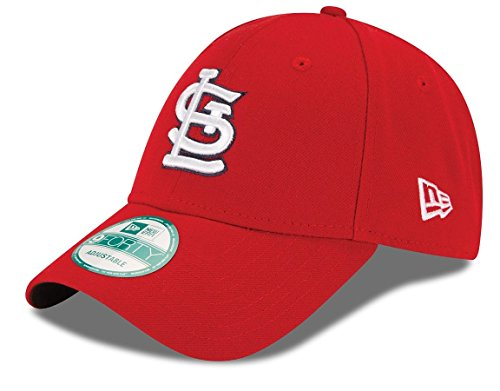 fan products of MLB St. Louis Cardinals Youth The League 9Forty Adjustable Cap, One Size, Red