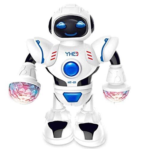 Kindsells Toddler Robotics Toys Multifunctional LED Smart Robot Dance Music Kids Education Toys Robotics from Kindsells