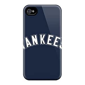 Defender Cases With Nice Appearance (baseball New York Yankees 1) Case For Sumsung Galaxy S4 I9500 Coverplus