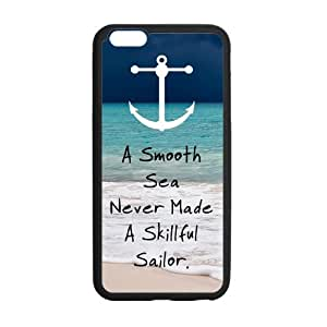 Customize TPU Gel Skin Case Cover for iphone 6+, iphone 6 plus Cover (5.5 inch), Anchor