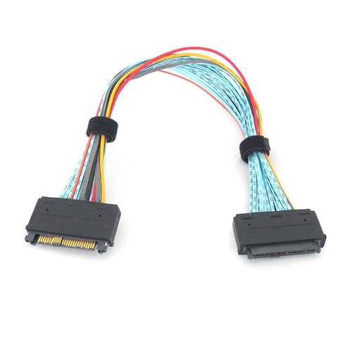 Micro SATA Cables  SFF-8639 68 Pin U.2 Cable Extension Cable - 20 Inch
