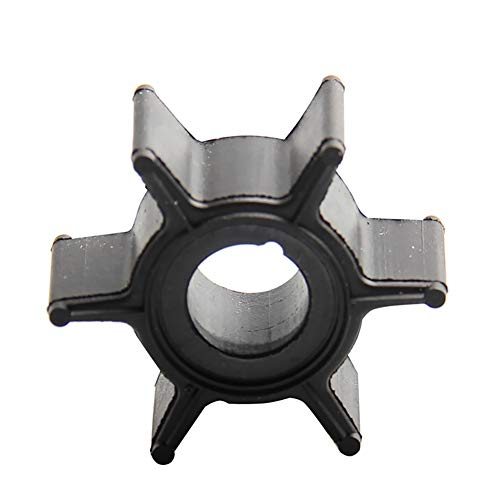 Water Pump Impeller for Mercury Sierra Tohatsu 2HP 2.5HP 3.5HP 4HP 5HP 6HP Compatible Part#47-16154-3 369-65021-1 18-3098