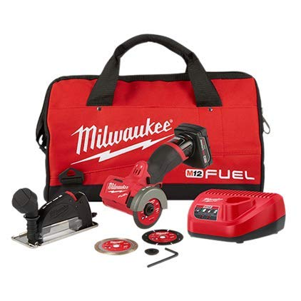 Milwaukee (MLW252221XC) M12 FUEL 3IN Compact Cut Off Tool Kit Review