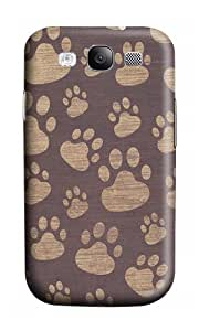 Samsung S3 Case,VUTTOO Cover With Photo: Patterns Paws For Samsung Galaxy S3 I9300 - PC Hard Case