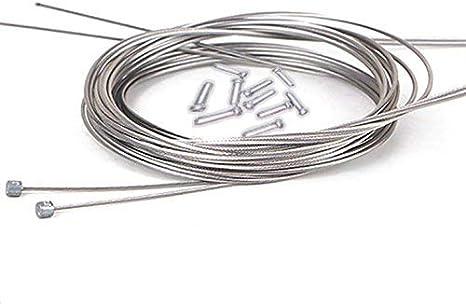 10 cables universales de cambios Bowden de acero para bicicleta ...