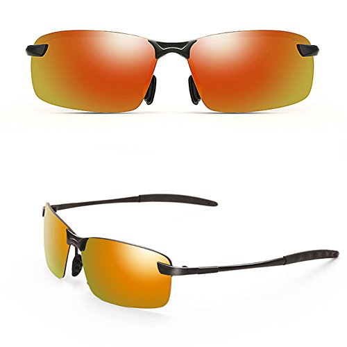 polarizador Piloto TD de Sol Espejo 3 Gafas 2 DT Sol Estilo Gafas de Nuevo Hombre vUdq7w