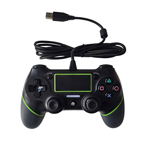 zzpopGG Game Controller,Joystick,Game Console,USB Wired Gamepad Dualshock Controller Console Joystick for Gamepad- Green