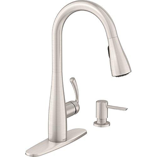 moen kitchen faucet spot resist - 8