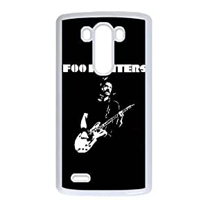 LG G3 Cell Phone Case White Dave Grohl Foo Fighters KTA Customized 5D Case